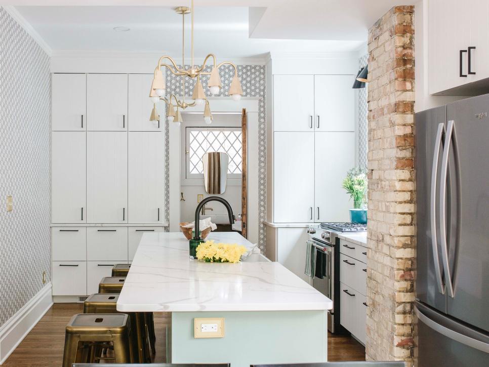 Stylish Small Kitchens, maximize storage space