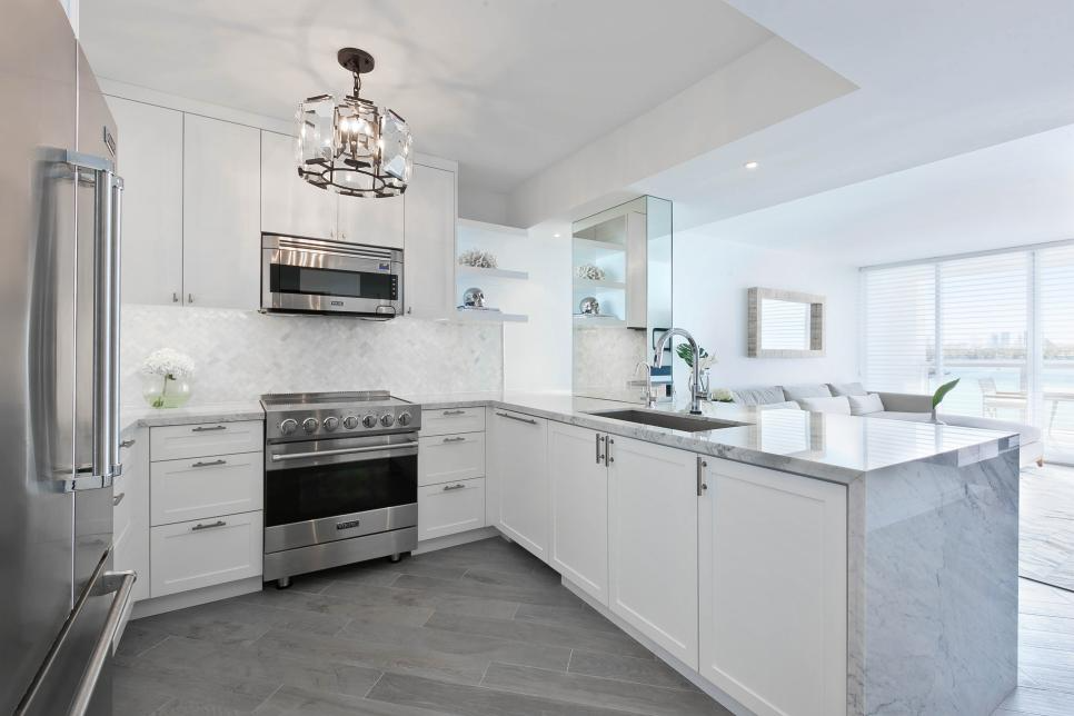 Stylish Small Kitchens, embrace the open concept design