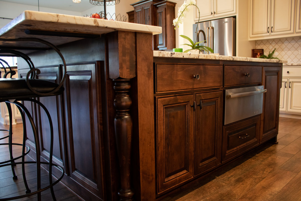Traditional wood cabinet style
