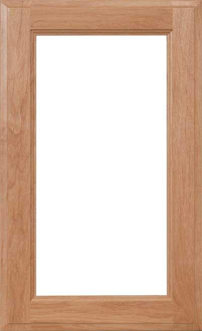 Cabinet Door Cut For Glass