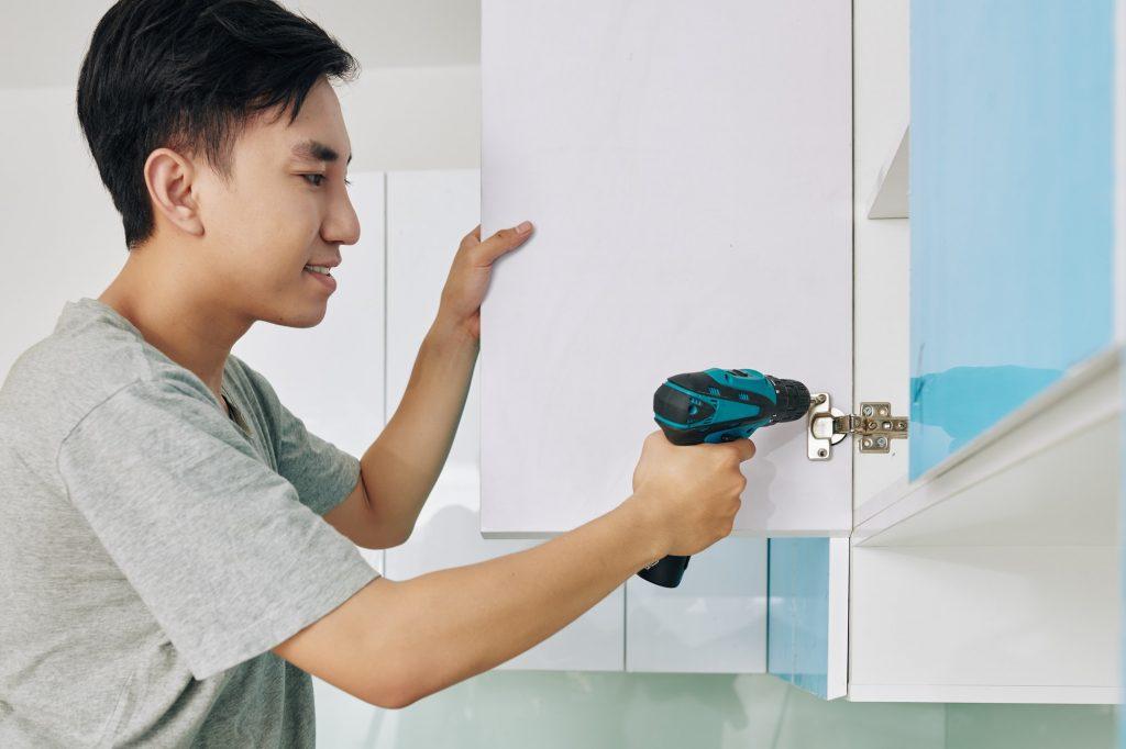 cabinet door installation
