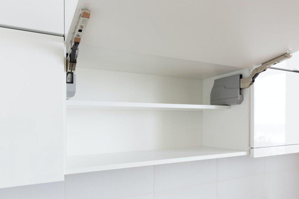 Top open cabinet door