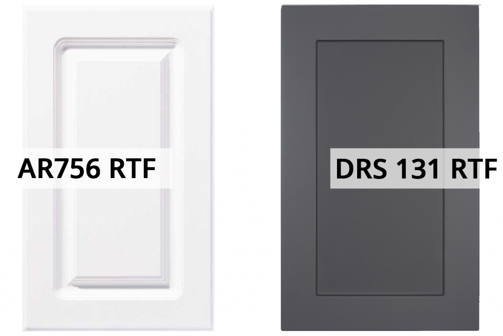 thermofoil cabinet doors, ar756 rtf and drs 131 rtf