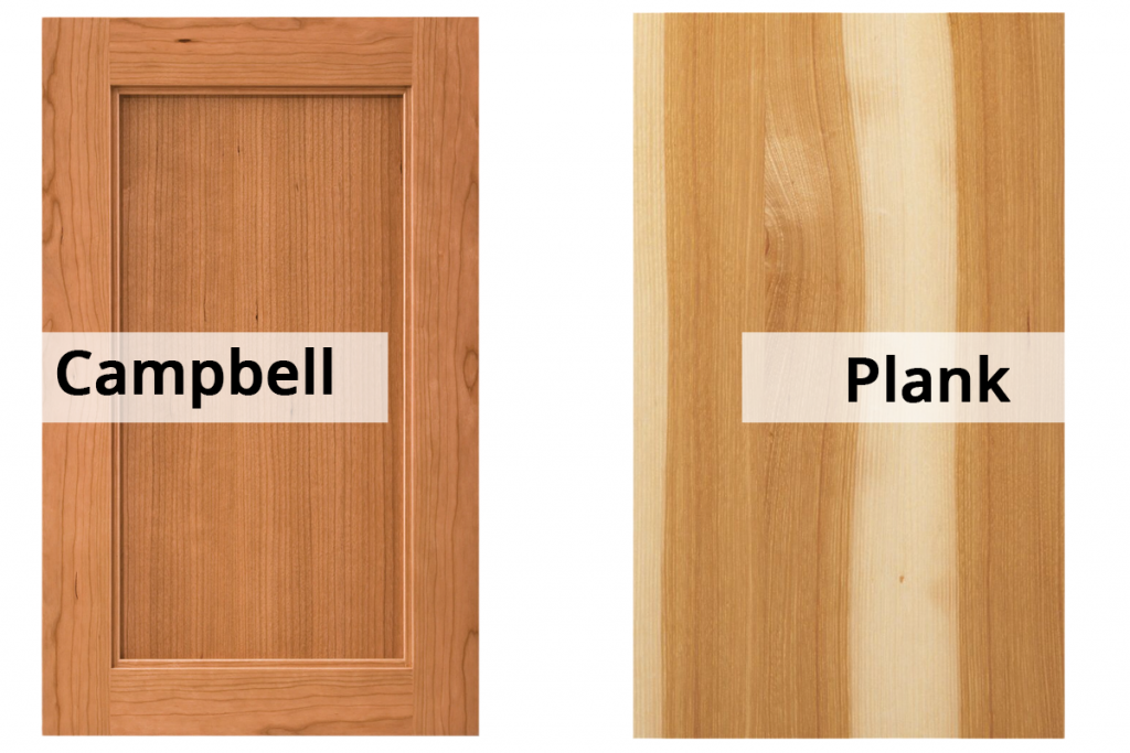 wood cabinet styles campbell and plank