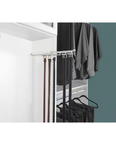 Pull-Out Belt/Scarf Organizer