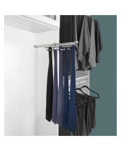 Pull-Out Tie/Scarf Rack